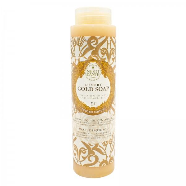 Luxury Gold Soap - Duschgel mit 23 Karat Blattgold, 300 ml