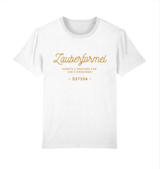 """Rundhals T-Shirt """"Zauberformel C-Frequenz"""", verschiedene Designs"""