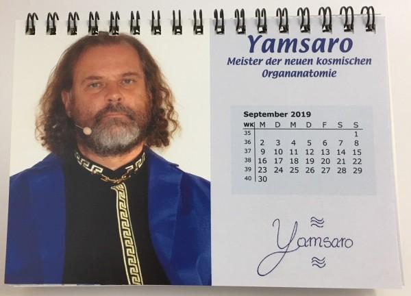 Jahreskalender 2019 - mit 13 Meisterbildern und deren Energien