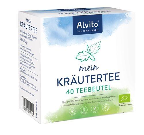 Alvito Bio-Basentee, 40 Teebeutel