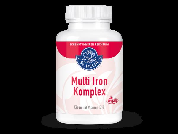 Multi Iron Komplex, 90 Kapseln, vegan