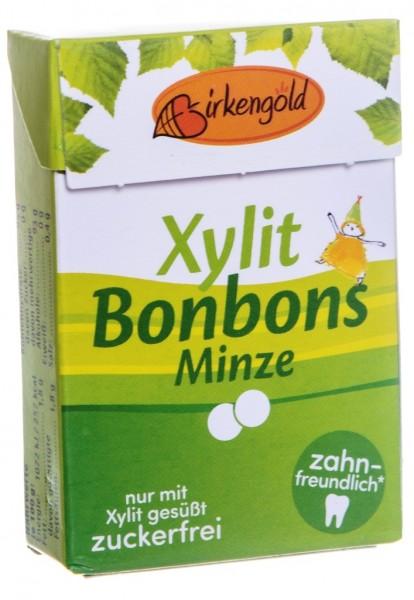 Xylit Bonbons Minze, 30 g