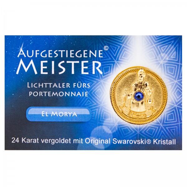Meistertaler - El Morya / 24 Karat Gold mit orig. Swarovski Kristall