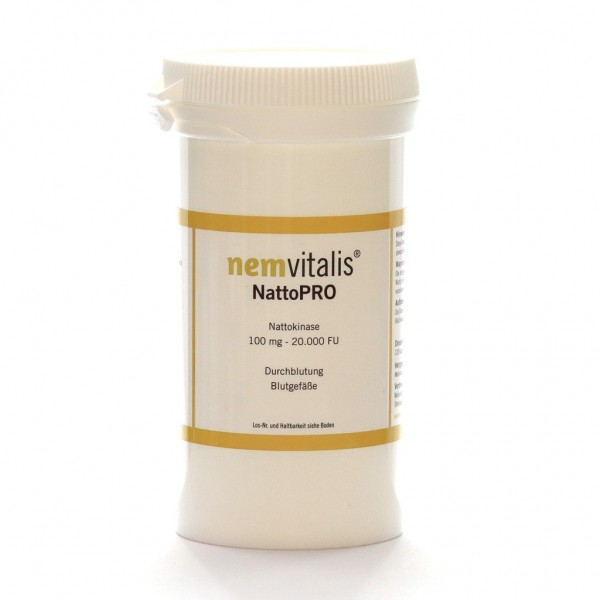 nemvitalis® - NattoPRO, 60 Kapseln