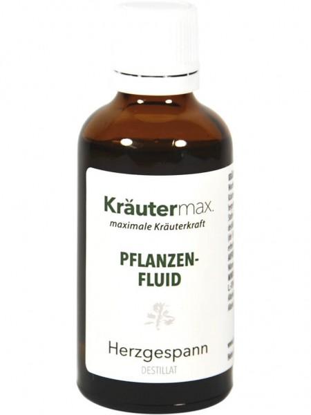 Kräutermax Pflanzenfluid mit Herzgespann-Destillat