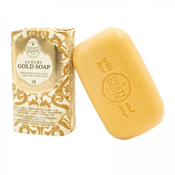 Luxury Gold Soap - Goldseife mit 23 Karat Blattgold, 250 g