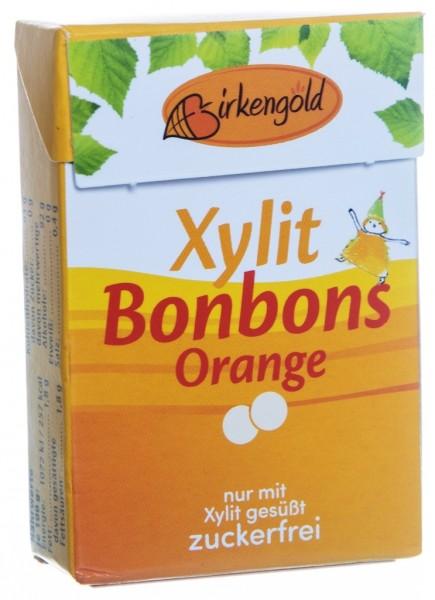 Xylit Bonbons Orange, 30 g