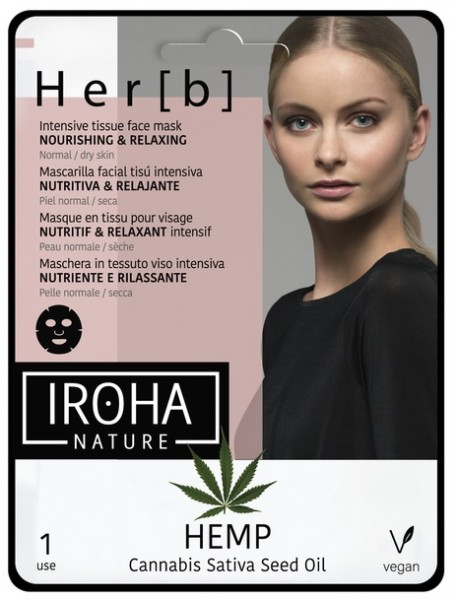 Iroha Nature - Her[b] Hanföl Gesichtsmaske