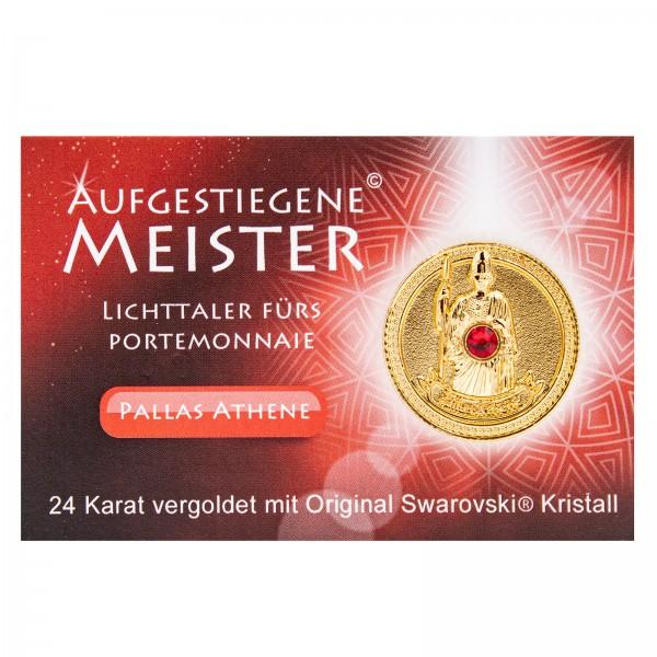 Meistertaler - Pallas Athene / 24 Karat vergoldet mit orig. Swarovski Kristall