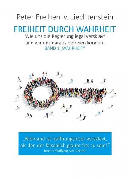 """Buch: """"Freiheit durch Wahrheit"""" von Peter Freiherr von Liechtenstein"""