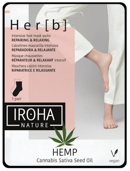 Iroha Nature - Her[b] Hanföl Pflegesocken
