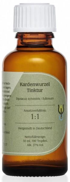 Kardenwurzel Volltinktur, Ansatz 1:1, 30 ml