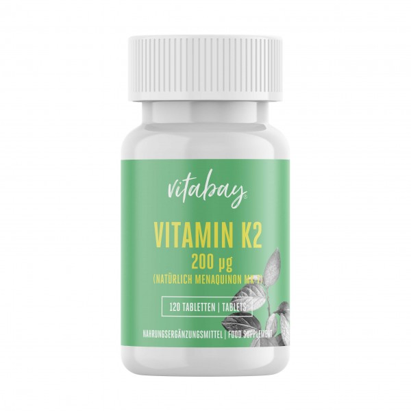 Vitabay Vitamin K2 200µg, 120 Tabletten