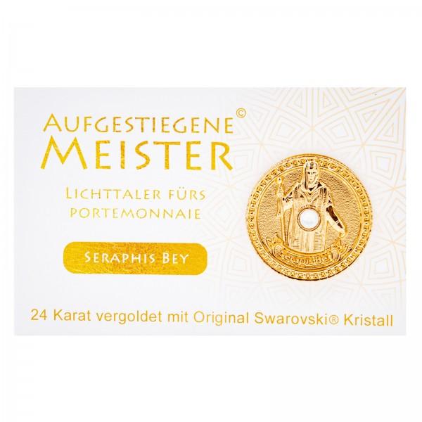 Meistertaler - Seraphis Bey / 24 Karat vergoldet mit orig. Swarovski Kristall