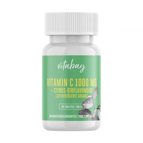 Vitabay Vitamin C 1000mg + Bioflavonoide, zeitverzögerte Abgabe