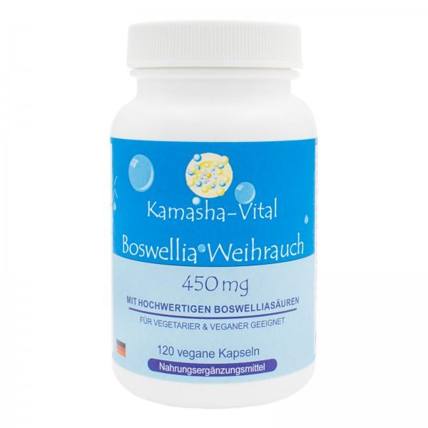 Boswellia Weihrauch, 120 Kapseln je 450 mg