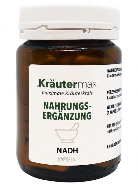 Kräutermax NADH Coenzym 1, 60 Kapseln á 20mg