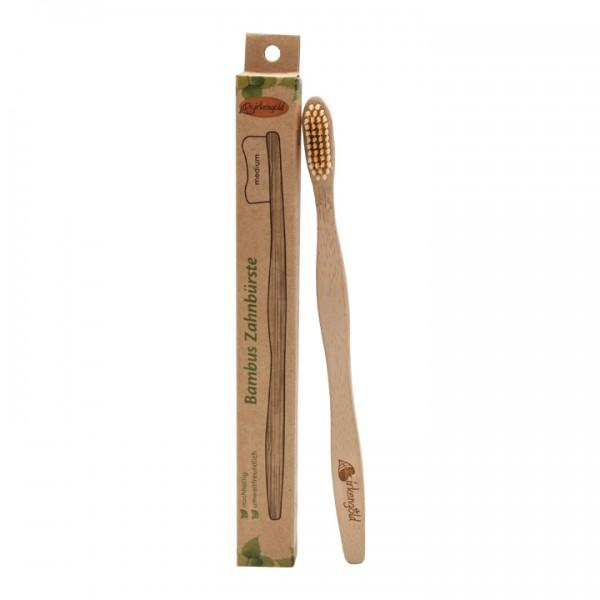 Bambus Zahnbürste, 100% nachhaltig