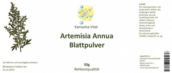 Artemisia Annua Blattpulver, 50g, rohkostqualität
