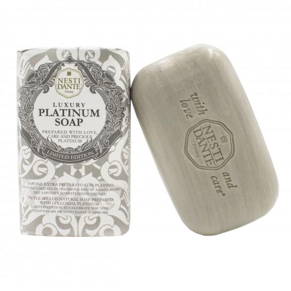 Luxury Platinum Soap - Platinumseife mit dem kostbarem Edelmetall Platin, 250 g